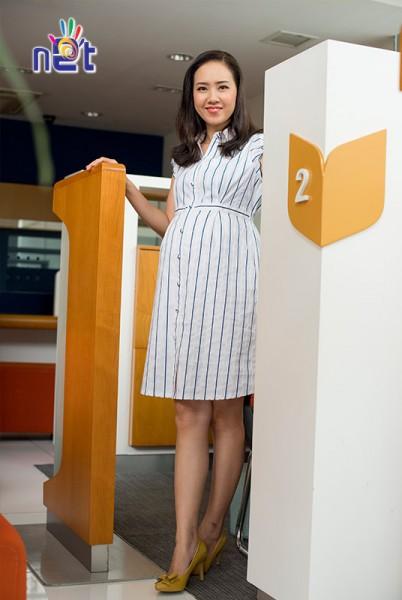 Đầm bầu công sở