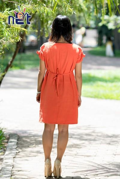 Đầm bầu dáng suông