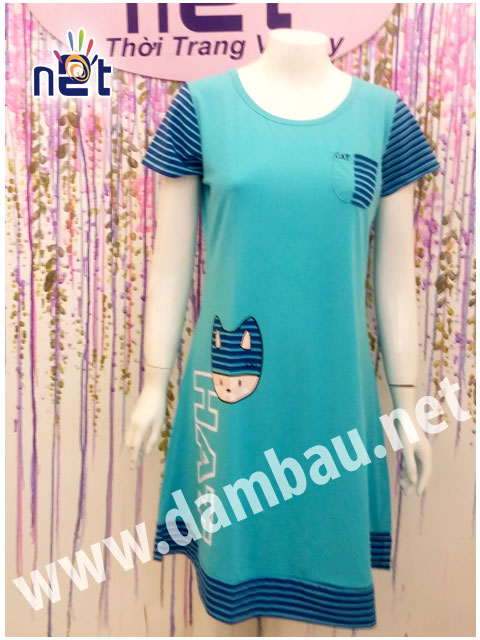 Đầm Bầu thun